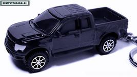 RARE KEY CHAIN BLACK FORD RAPTOR SVT F150 TRUCK NEW CUSTOM KEY RING SPEE... - $34.95