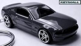 KEY CHAIN BLACK FORD MUSTANG GT SCHLÜSSELANHÄNGER PORTE CLE LLAVERO PORT... - $28.98