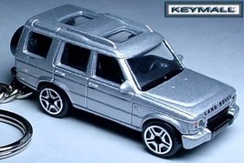 RARE KEY CHAIN RING SILVER LAND ROVER DISCOVERY HSE/SE TDi LR UK GB NEW ... - $39.95
