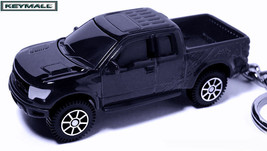 KEY CHAIN BLACK FORD RAPTOR SVT F150 TRUCK CUSTOM KEY RING SPEED WHEELS ... - $34.95