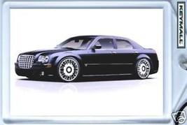 KEYTAG 2005~2011 DARK BLUE CHRYSLER 300C LLAVERO KEY CHAIN RING PORTE CL... - $9.95