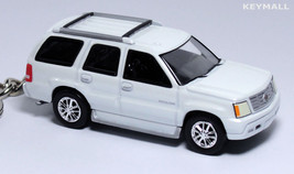 RARE KEY CHAIN RING WHITE CADILLAC ESCALADE 4X4 NEW LIMITED EDITION S SC... - $39.98