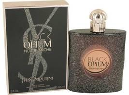 Yves Saint Laurent Black Opium Nuit Blanche Perfume 3.0 Oz Eau De Parfum Spray image 3