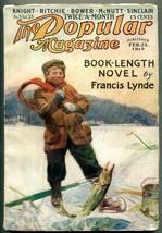 Popular Magazine Pulp February 23 1915- Francis Lynde- BM Power VG/F - $123.58