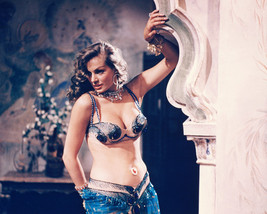 Anita Ekberg Busty In Belly Dancing Outfit 16x20 Canvas Giclee - $69.99