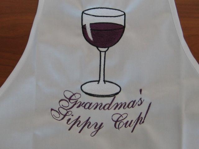 White apron grandmas sup