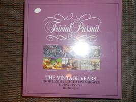 Trivial Pursuit Vintage Years - $18.00