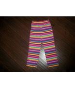 Girls Circo Rainbow Striped Elastic Waist Pants Size 4T - $2.50