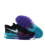 womens size nike air max flyknit running shoes - $95.00