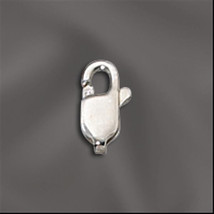 8.3mm x 3.2mm Sterling Silver Lobster Claw Clasps (10) 925 SS - $10.64