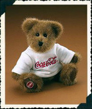 "Boyds Bears ""Billy""  #919914- 8"" Coca Cola Plush Bear -Licensed~ 2005~Re... - $19.99"