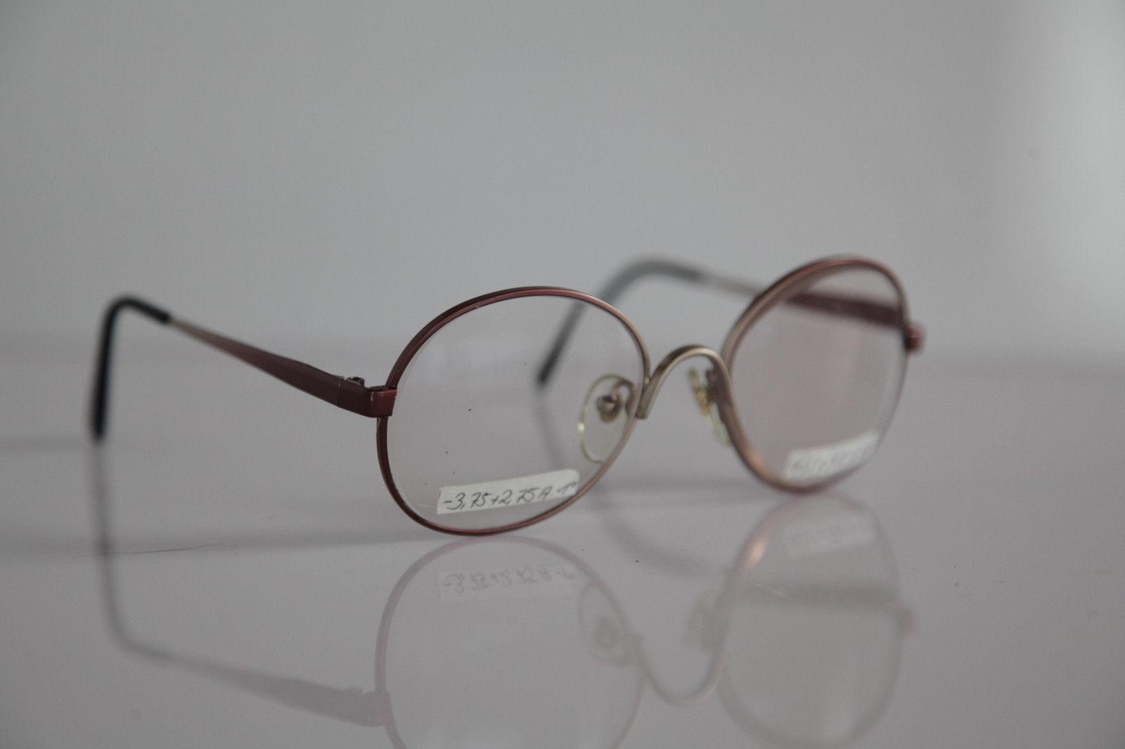 Vintage Eyewear,  Grading Metallic Red Frame,  RX-Able Prescription lens.