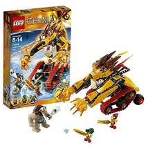 Lego Year 2014 Legends of Chima Series Vehicle Set #70144 - LAVAL's FIRE... - $74.99