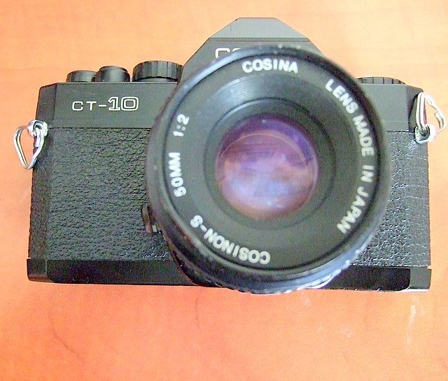 Primary image for Cosina CT 10 Film Camera with Cosinon 50mm Lens, Japan, Parts