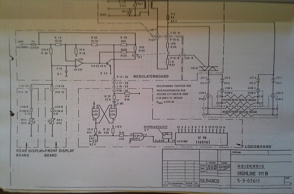 Gilbarco Highline 111b Schematic Diagrams And Programming