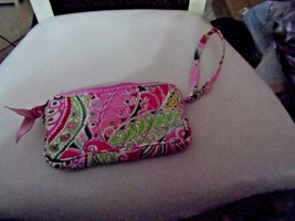 Vera Bradley wristlet in Pinwheel Pink - $14.50