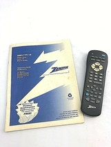 Zenith Sentry Two A TV Operating Guide And Remote MBR3477 - $16.10