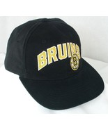 Boston Bruins NHL Black Baseball Hat Cap Adjustable Snapback EUC Box Shi... - $19.99