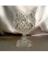 Shannon Cut Glass Bowl Candy Dish Potpourri Bow... - $45.00