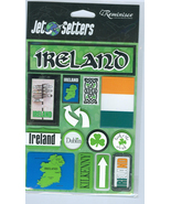 Vacation In Ireland  Themed Embellishments  Cardmaking Craft New  - $12.99