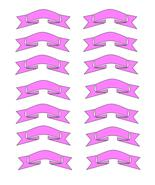 Pink Ribbons7-Digital Download-ClipArt-ArtClip-... - $3.00