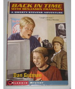 Back in Time with Benjamin Franklin Dan Gutman Qwerty Stevens Adventure ... - $1.40