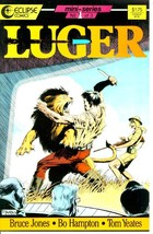 LUGER #1 (Eclipse Comics, 1986) NM! - $1.00
