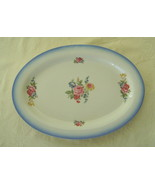 Charlotte Pattern Large Stoneware Serving Platter - $17.00