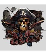 Dead Men Tell No Tales {Pirate} / Grey T-Shirt ... - $10.88 - $12.86
