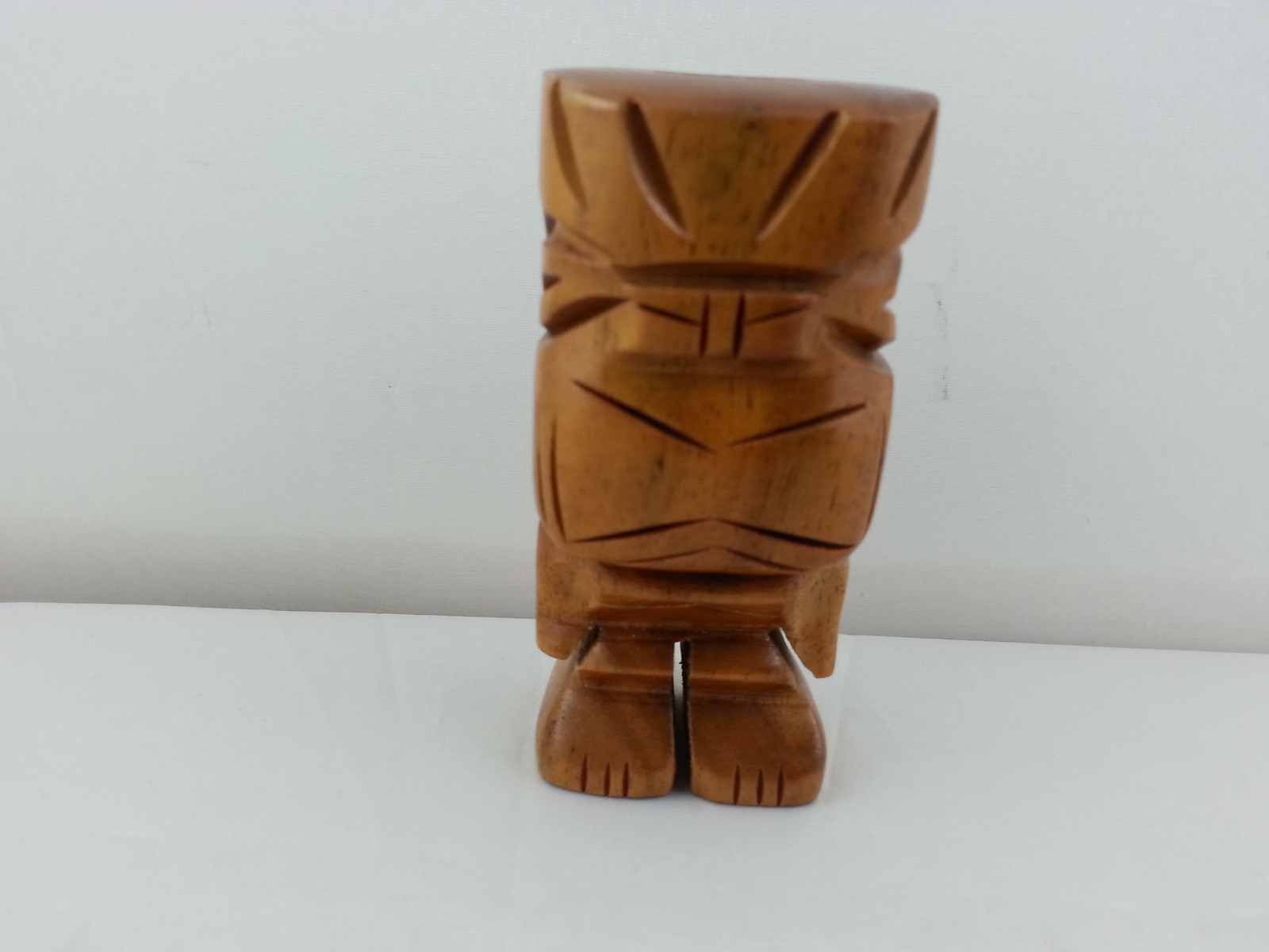 Primary image for Vintage Wood Carved Ku Tiki - Toothpick/Pen Holder - Neat-O !!!