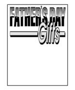 Fathers Day Gifts2-Digital Download-ClipArt-ArtClip-Digital-Digital Ri - $4.00