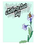 Mother in Laws Day2-Digital Download-ClipArt-Ar... - $3.85