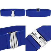 Syuer Womens Wide Elastic Waist Belt Cinch Belt Trimmer Stretch Waistband - $12.96