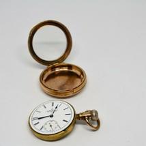 Elgin Pocket Watch Sidewinder Size 6s Grade 95 1888 7 Jewels GF RUNS - $483.57