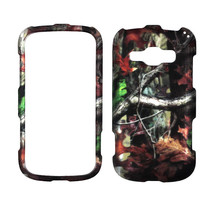 Duck Blind Kamo   For Samsung Galaxy Prevail 2  Ru bberized Feel Case Cover - $8.54
