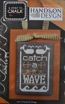June A Year In Chalk series cross stitch chart Hands On Design - $5.00