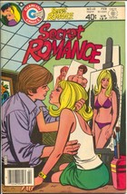 Secret Romance #48 1980-spicy Bolles cover-headlights-provocative poses-... - $99.33