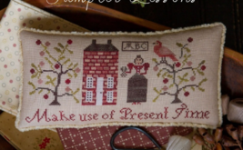 Sampler Lesson 1 BYOF Kit Serial Bowl Collection cross stitch Plum Street  - $20.00