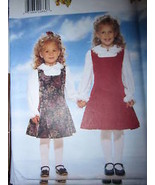 4270 UNCUT Vintage Butterick SEWING Pattern ITS ENCHANTING Girls Jumper Top OOP - $4.88