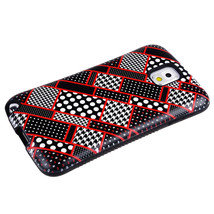 for Fabric Pattern Design Anti-Shock Samsung Galaxy No 3 Case Cover A+ - $11.87