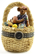 "Boyds Treasure Box ""Laurel Bearibean w/Picasso Mouski"" #392100- New- 200... - $49.99"