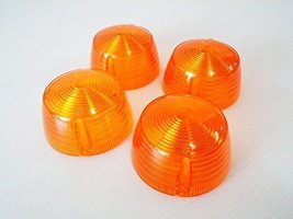 Suzuki A50 A80 A90 A100 AC50 AS50 Winker Turn Signal Lens 4pcs. New - $12.73