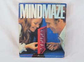 Mind Maze 1970 Board Game Parker Brothers 100% Complete EUC Bilingual - $22.65