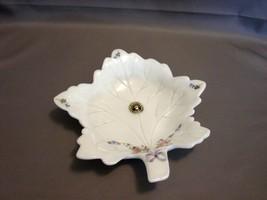 """Westmoreland Milk Glass w/ Roses & Bows 6"""" Leaf... - $7.99"""