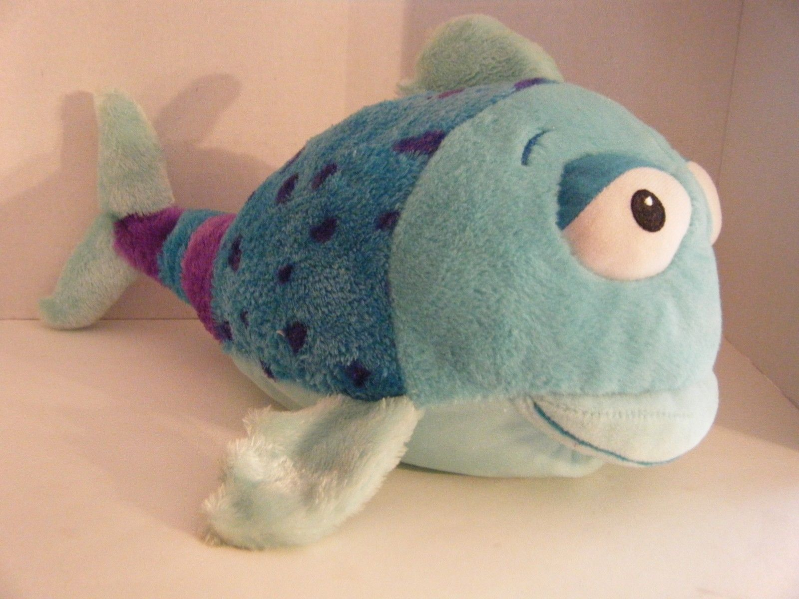 Primary image for Plush POUT POUT FISH Kohl's Cares From Book by Deborah Diesen Stuffed Animal