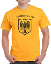 200 Deutschland mens T-shirt germany german country pride cool eagle vintage new - $15.00+