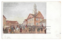 York PA Continental Congress Adjournment Drawing Vintage Postcard 1907 PMC - $4.99