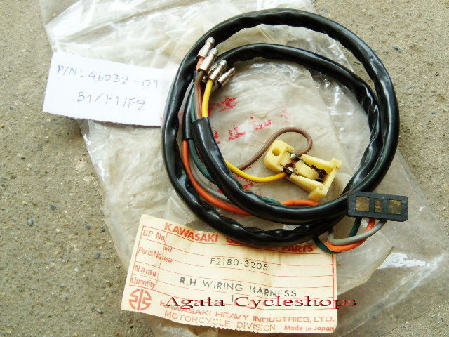 Kawasaki B1 B1T B1L F2 F2TR F3 Wiring and 50 similar items on amp bypass harness, safety harness, oxygen sensor extension harness, alpine stereo harness, electrical harness, engine harness, radio harness, pet harness, suspension harness, nakamichi harness, maxi-seal harness, dog harness, fall protection harness, battery harness, pony harness, obd0 to obd1 conversion harness, cable harness,