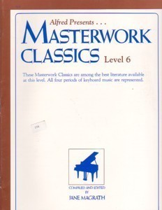 Alfred Presents Masterwork Classics Level 6