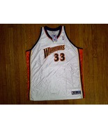 Authentic Reebok Golden State Warriors Jamison-White/Orange/Blue Home Je... - $149.99